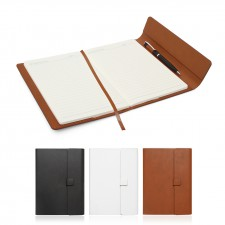 Notebook Journal A5 Leather Look Magnetic Closure