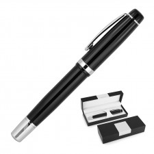 Banker Rollerball Pen (Mirror Engrave)