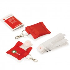 CPR Mask On Keyring