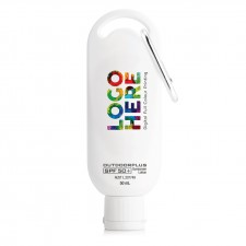 Australian Made Sunscreen SPF 50+ on Carabiner 50ml
