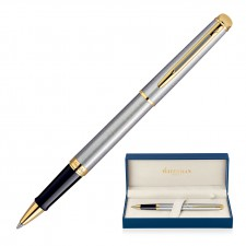 Waterman Hemisphere Rollerball Pen - Brushed Stainless GT