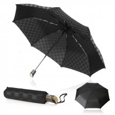Umbrella 58cm Folding Compact Shelta Checkerboard