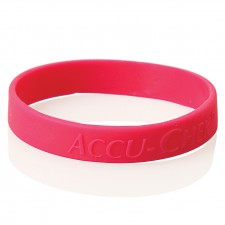 Embossed Silicone Wristband