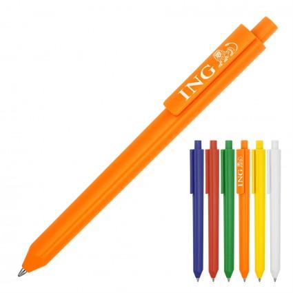 Plastic Pen Ballpoint Matte Triangular Phoenix