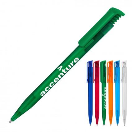 Plastic Pen Ballpoint Frost Tia