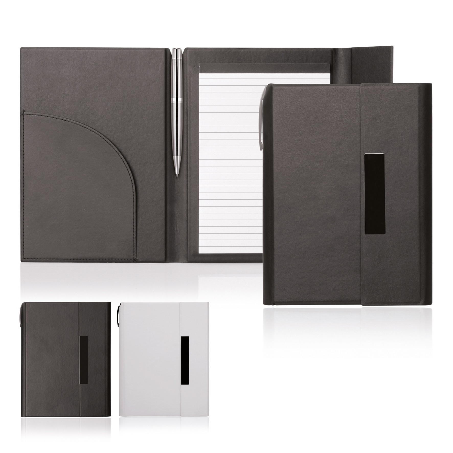 Notepad A5 Folder Magnetic Closure Elegance