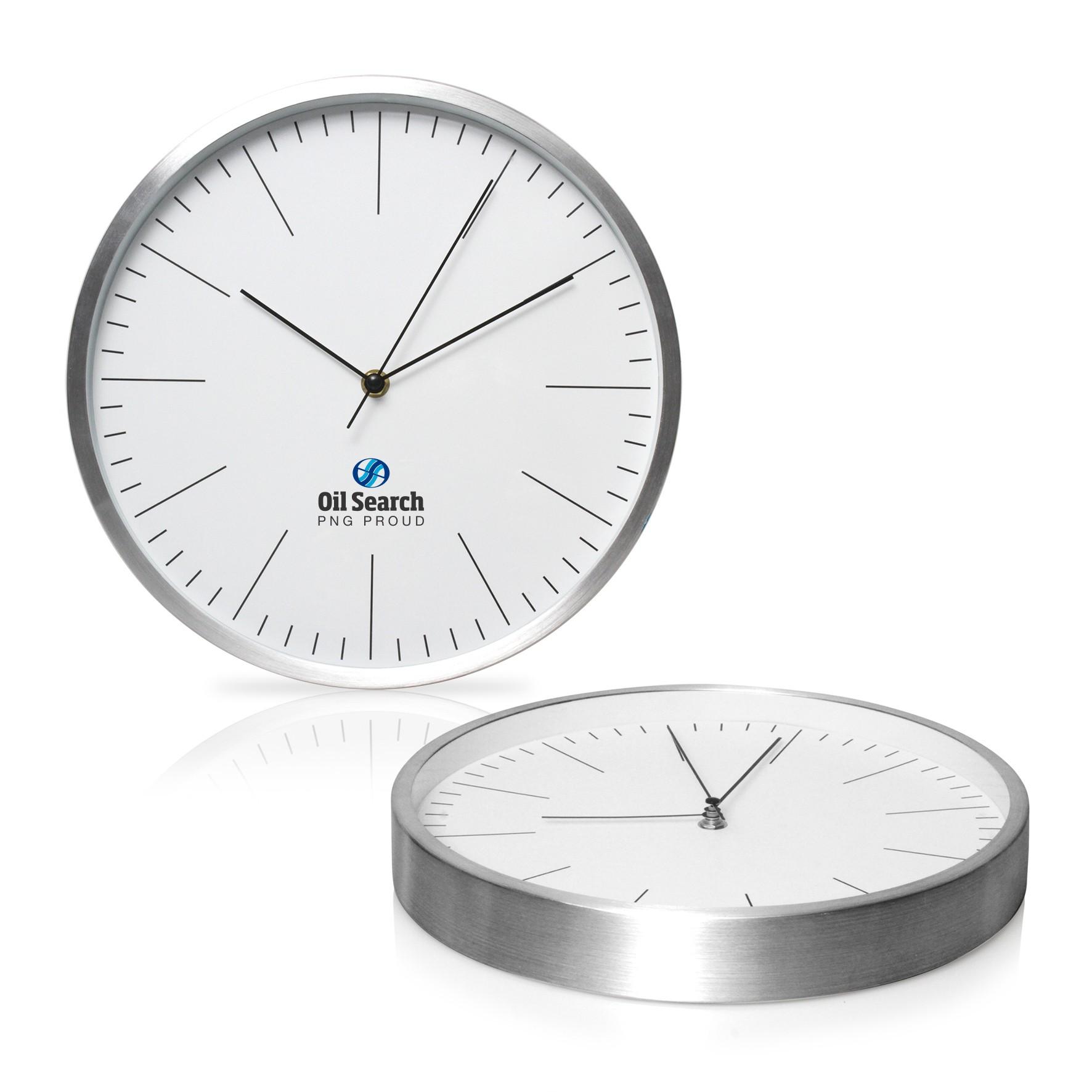 Wall Clock 30cm Aluminium