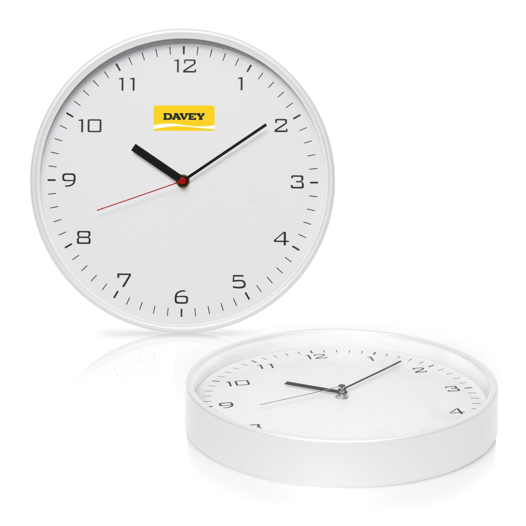 Wall Clock 30cm Plastic